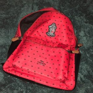 Coach  Backpack In Bandanna & Mickey